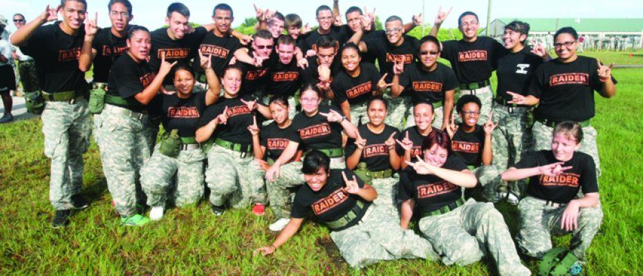 Third Annual JROTC Invitational Raider Meet Draws 20 Area Schools