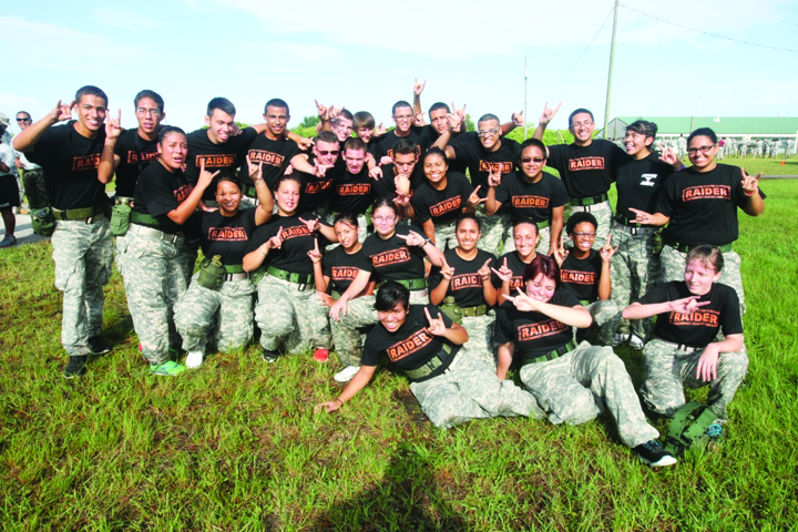 Third Annual JROTC Invitational Raider Meet Draws 20 Area Schools
