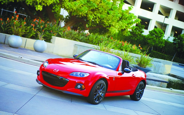Motoring Tampa Bay: HAPPY 25th BIRTHDAY TO THE HIP MX-5