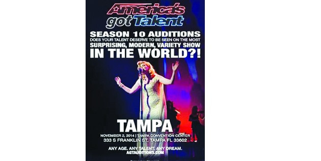 America's Got Talent Auditions To Be Held Locally