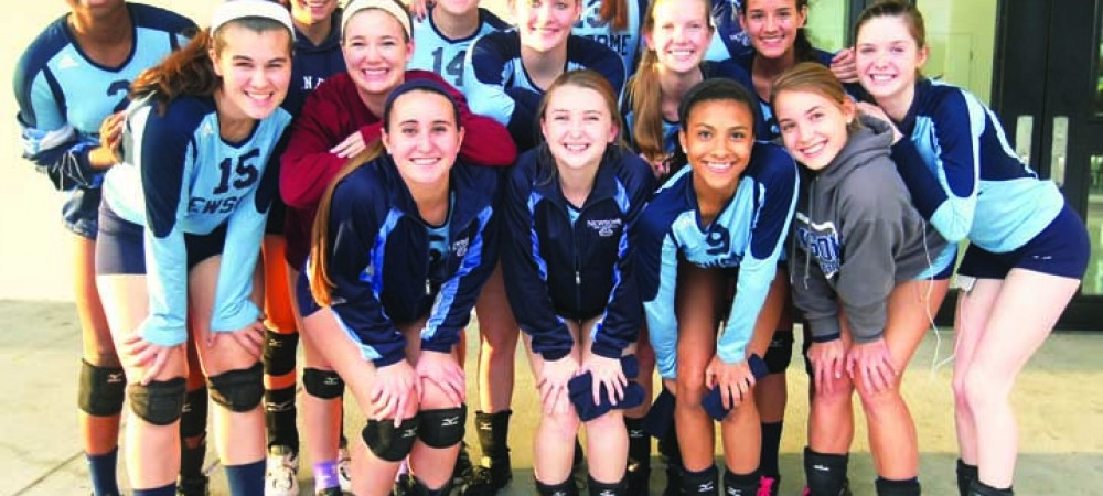 Newsome Girls Volleyball Enjoys Better Season, Counts On Experience And Leadership