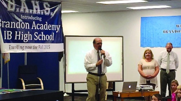 Brandon Academy Announces Plans For New IB High School To Start 2015-16 School Year