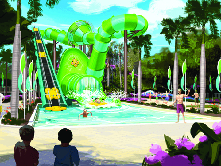Colossal Curl Makes A Splash At Adventure Island In 2015