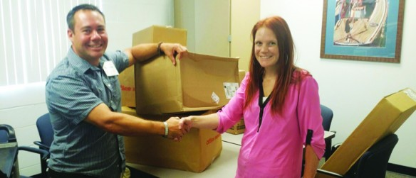 Newland Communities Donates $2,000 In Art Supplies To Inez Doby Elementary School