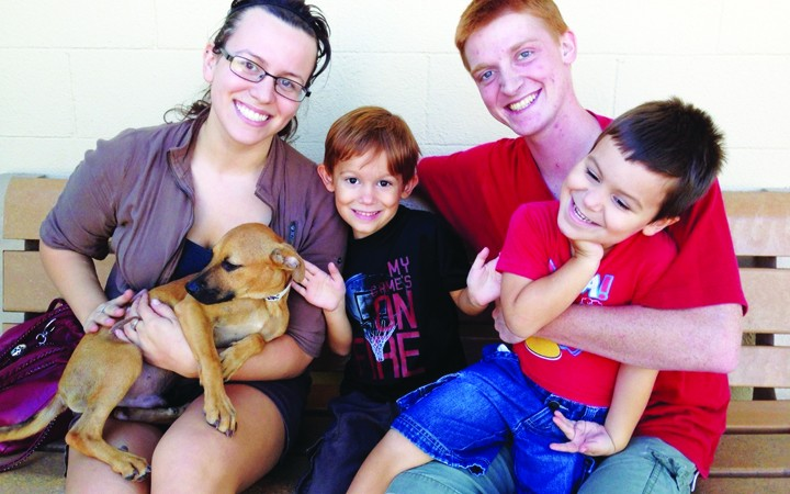 County Animal Shelter Monthly Adoption Event Draws Crowd, Shows Signs Of Success