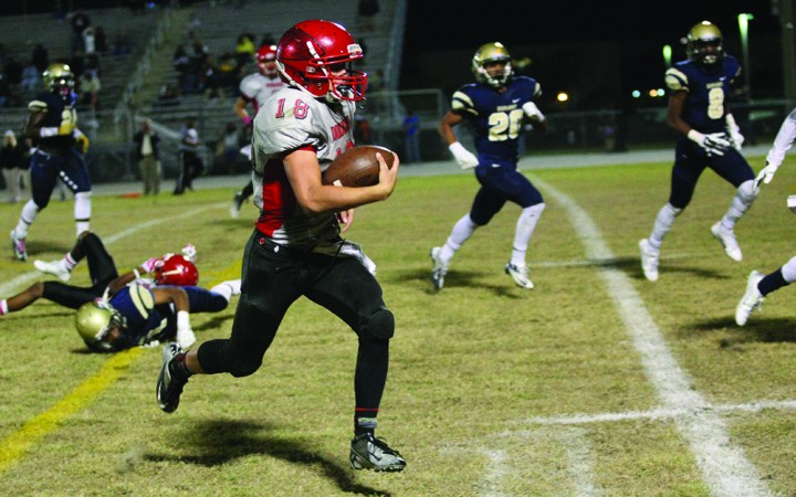 East Bay Ends Tough Football Season Ends With Game Loss To Durant