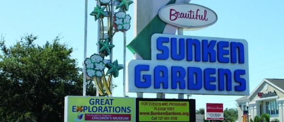 Travels, Tours & Tales: Sunken Gardens