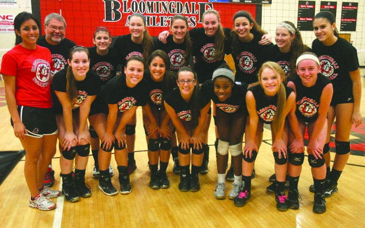 Bloomingdale Volleyball Enjoys Season As Undefeated District Champs