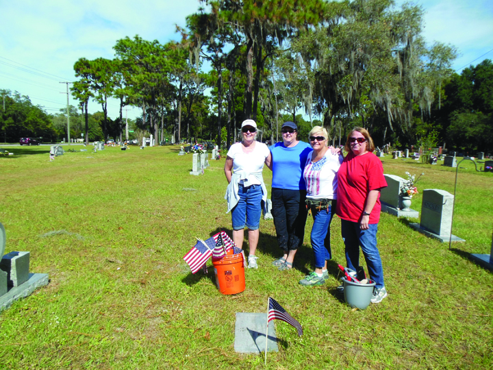 Organization Honors Veterans At Historical Limona Cemetery