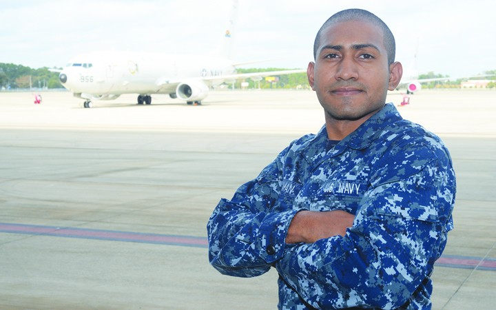 Riverview Native Serves With Navy Maritime Patrol Squadron
