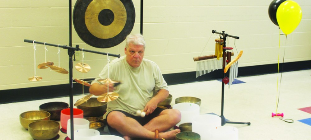 Volunteer's Singing Bowls Provide Relaxation, Meditation To Sick Individuals