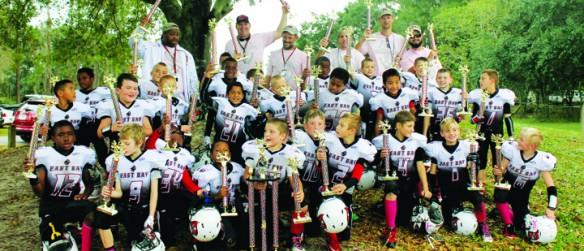 East Bay Buccaneers Pee Wee, Midgets Celebrate Super Bowl Victory