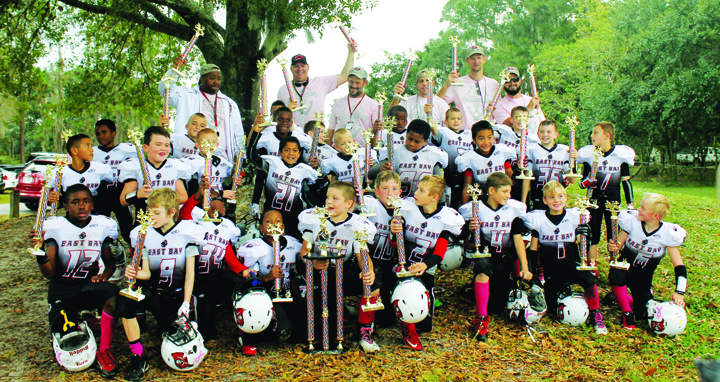 East Bay Buccaneers Pee Wee, Midgets Celebrate Super Bowl Victory