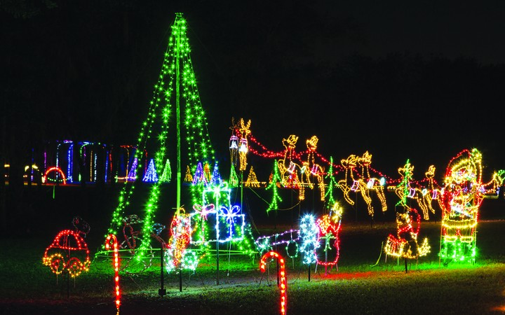 Nights Of Shimmering Lights Features Over One Million Lights, Christmas Town