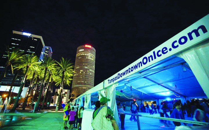 Outdoor Ice Skating And Santa Fest Return To Tampa For Holiday Season