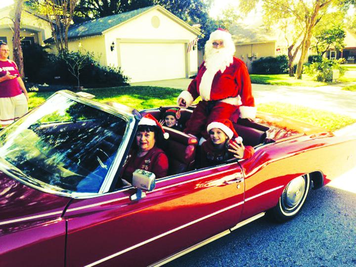 Buckhorn Hosts Santa Claus Parade & More