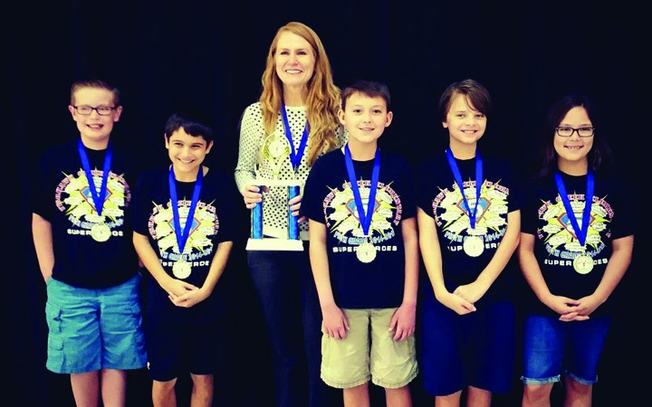 Local Students Excel At Mathematics