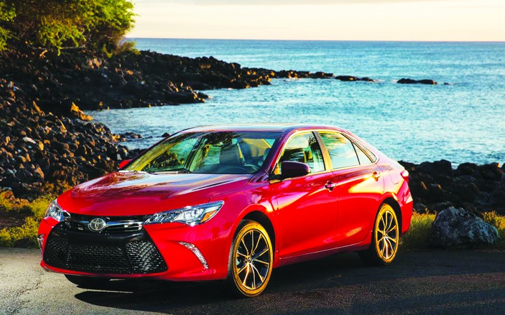 Motoring Tampa Bay: Toyota Redesigns 2015 Camry; Refreshes Sienna, Yaris