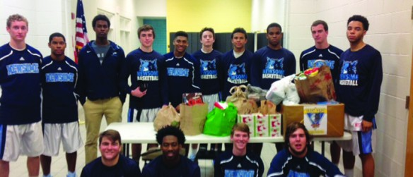 Newsome Boys Basketball Win Charity Game, Girls Soccer Lead District