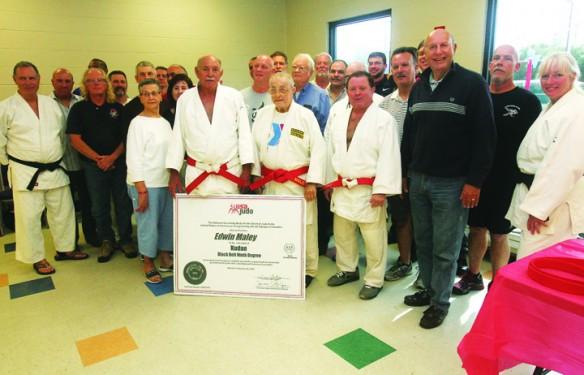 Florida School Of Judo Celebrates Instructor's Unparalleled Achievement