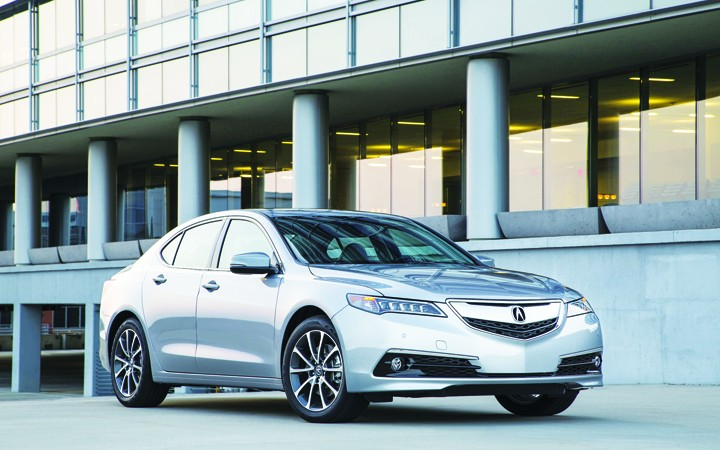 ALL-NEW ACURA TLX A STRONG CONTENDER