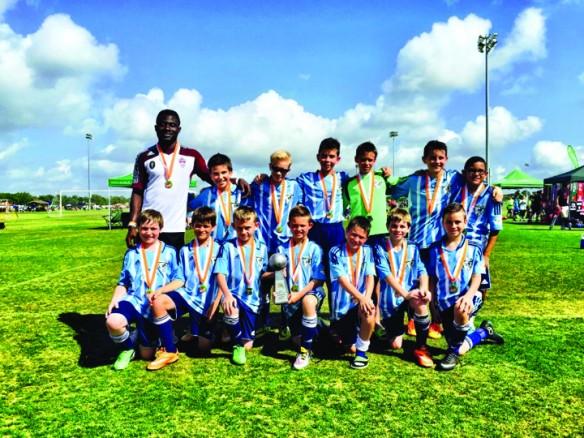 FishHawk U11B Wins Region C Cup Championship  ,    Tampa Thunder, Preps to Host National Power Wheelchair Championship