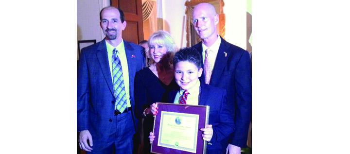 FishHawk Creek Elementary Student's Essay Wins Full College Scholarship