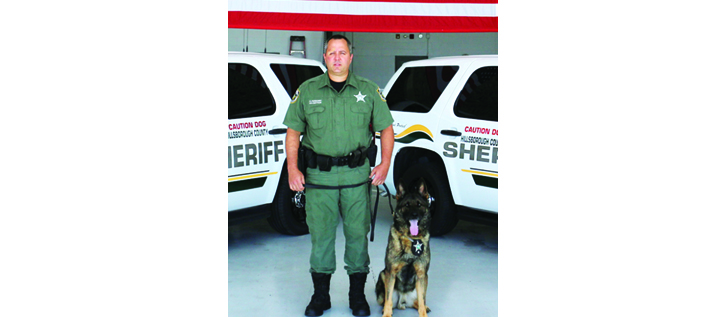 Sheriff's Office Bids Farewell To K9 Veteran After 8 Years Of Service