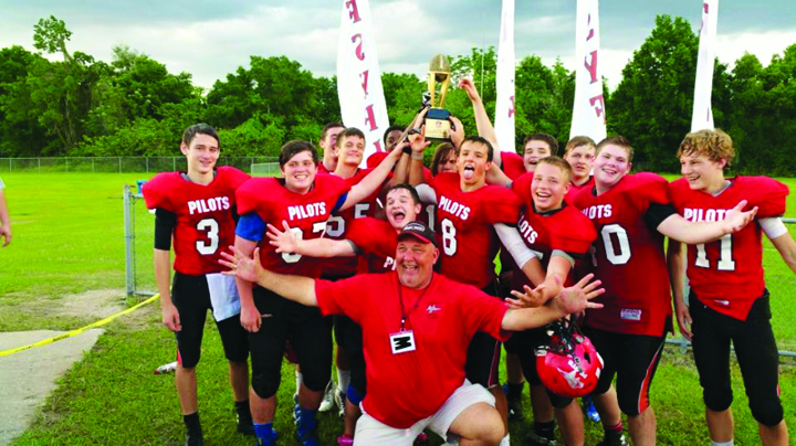 Pinecrest Pilots Boast Of Spring Football Western Conference Championships