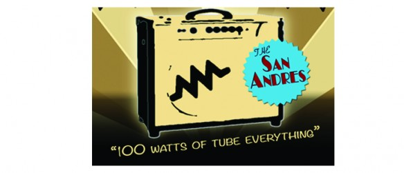 "ToneVille's New Bass Amp: ""The San Andres"""