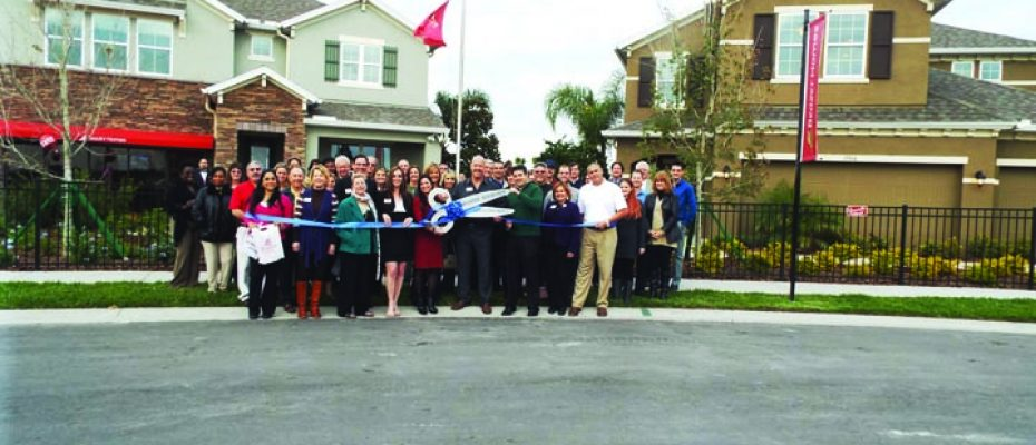 beazer homes ribbon cutting