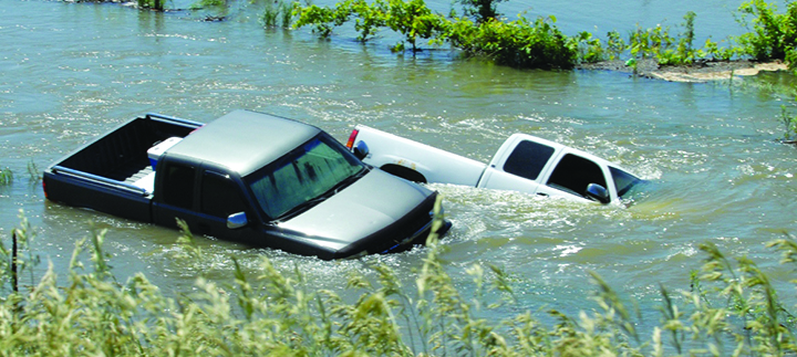 AAA Urges Local Motorists To Be Cautious On Flooded Streets
