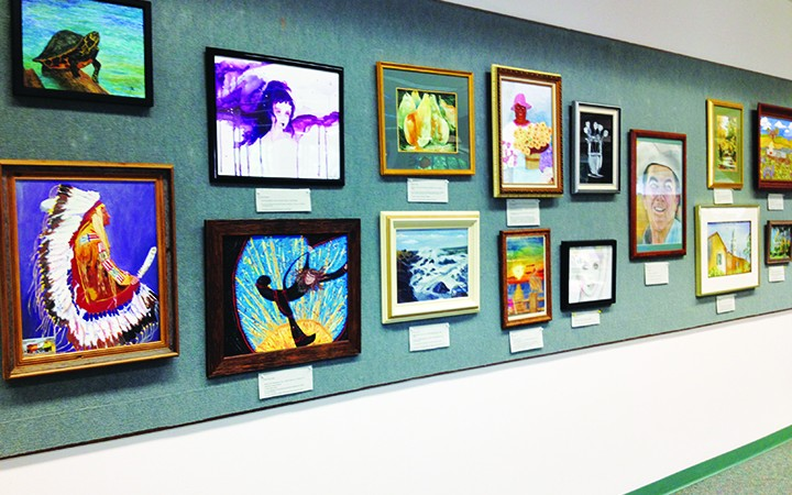 East Hillsborough Art Guild Presents Artists' Exhibit At Bruton Memorial Library