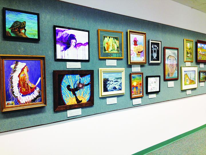 East Hillsborough Art Guild Presents Artists' Exhibit At Bruton Memorial Library