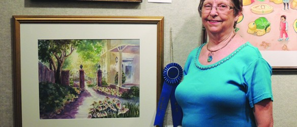 The Artwork Of The Members Of The Brandon League Of Fine Arts On Display At Center Place