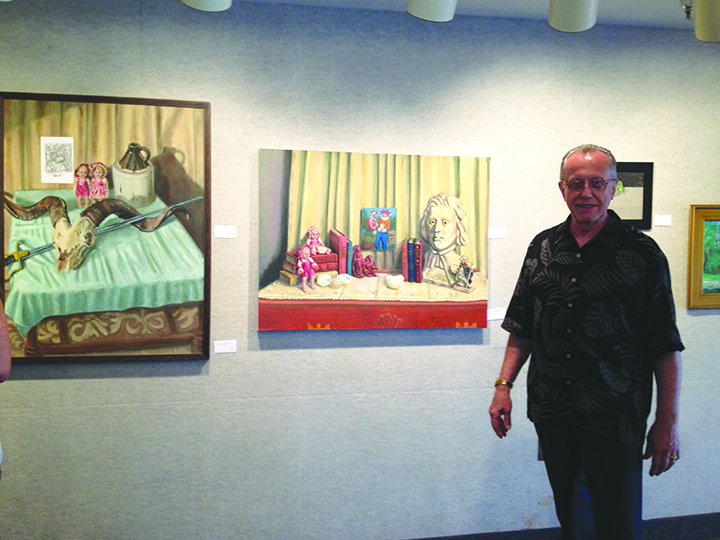 Christopher Klein's Artwork Featured At Center Place Of Brandon