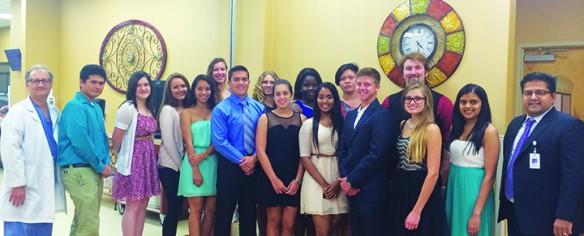 Brandon Regional Hospital 2015 High School Scholarship Recipients