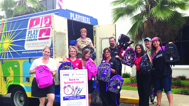 Annual Back To School Festival Fills Backpacks For Y Program
