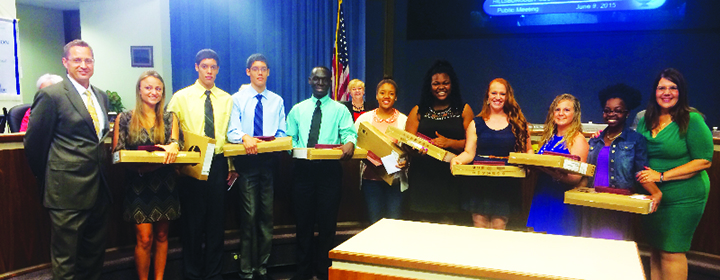 Chalklines: Students Honored For Perfect Attendance, Graduate Wins Car &More…