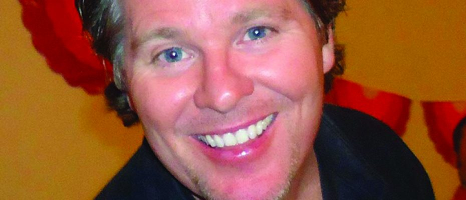 Comedian Michael Petit