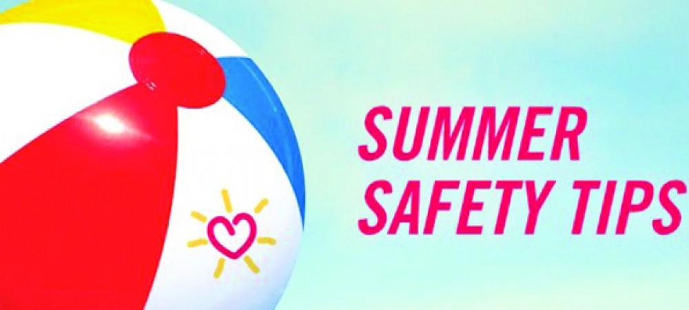 HOAsummer safety tips