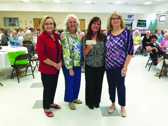 Newcomers Club Awards Abused Women Emergency Shelter As $4K Fundraiser Recipient
