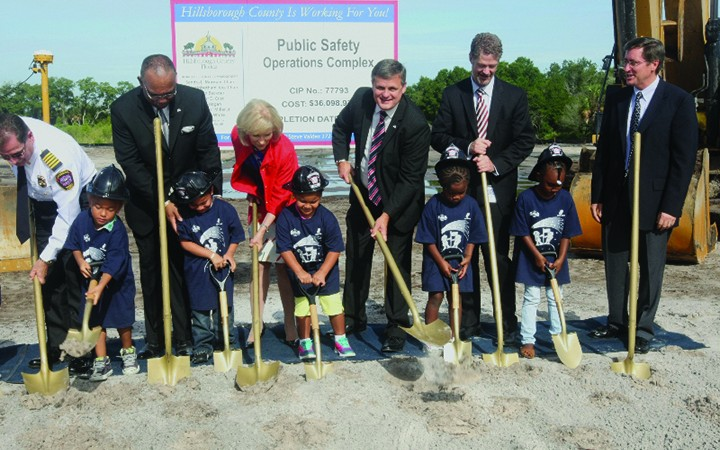 Hillsborough County Breaks Ground For $36M Public Safety Operations Complex