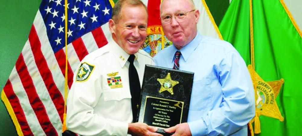 Retiree Colonel Ronald Hartley