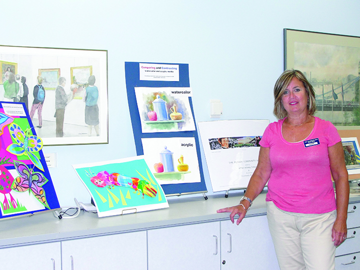 Free Art Classes Offered At SouthShore Regional Library