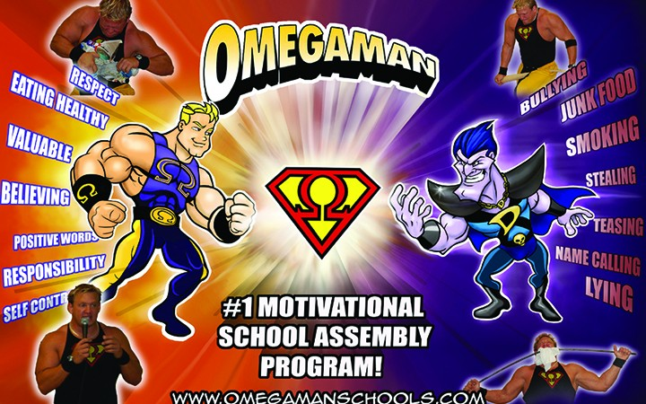 Omegaman To Appear At 10th Annual Back 2 School Bash