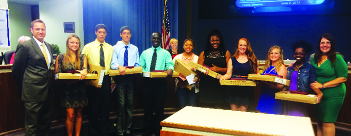 Chalklines: Riverview Student Honored For Perfect Attendance, AVID Institute & More…