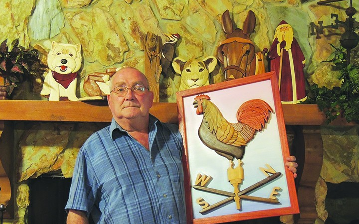 Lithia Resident's Second Solo Show To Showcase Intarsia Art