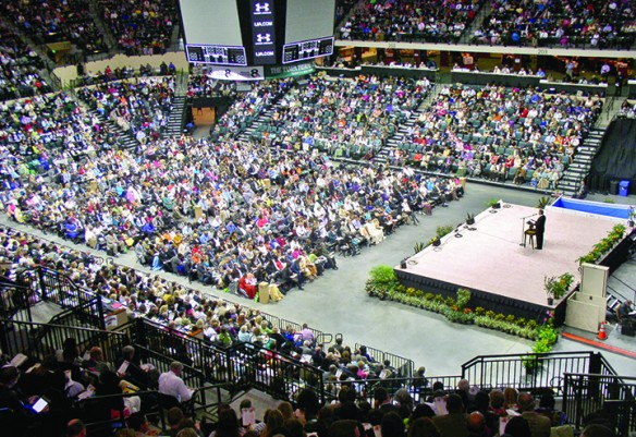 """Jehovah's Witnesses Welcome All To 2015 """"Imitate Jesus!"""" Convention"""