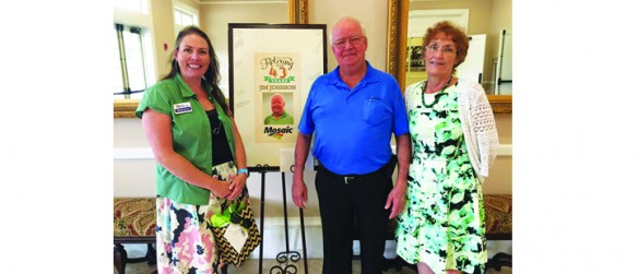 After 43 Years, 5 Months On Job, Jim Johnson Retires FromMosaic